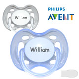 MiChupetes Philips Avent Freeflow, simétricos, silicona, talla 1