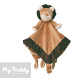 Manta de My Teddy y Sujeta-chupete, My Lion